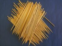 Bamboo Wood Skewers Grill Shish Kabobs Barbecue/five Sizes: 4, 6, 8, 10, 12