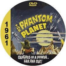 "The Phantom Planet (1961) Sci-Fi and Horror ""B"" NR CULT Movie DVD"