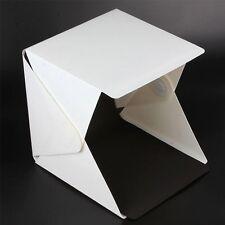 """MINI Luce Sala Studio Fotografico 9"""" Fotografia di illuminazione Tenda Sfondo Cubo Box UK"""