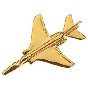 Jaguar North America Tie Tack Car Lapel Pin Gold Tone EJag