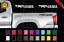 thumbnail 1 - TRD 4x4 Off Road Toyota Tacoma Decal Set Truck Bed Vinyl Stickers X2 16-20