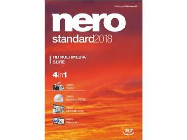 Nero Standard 2018 Audio & Video Software