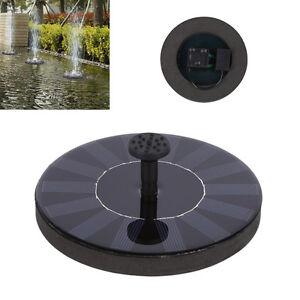 Solar-Powered-Bird-Bath-Fountain-Pump-Free-Standing-Garden-1-4W-Solar-Kit-HH