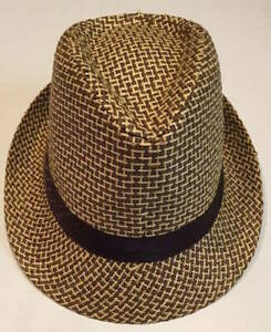 e603a65ba00 Women Men Tan Fedora Trilby Gangster Cap Summer Beach Sun Straw ...