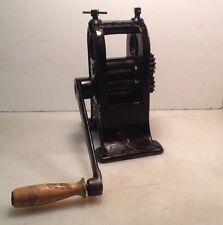 VHTF Antique M A SPENCER & CO Dental Rolling Roller Mill Cincinnati Ohio RARE