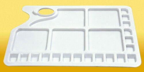 6606 34 x 23.5 cm Jakar-Artiste Mélange Plastique Palette 23 bien /& Thumb Hole