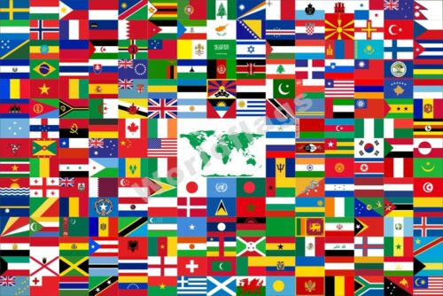 The Combined World 1958 Flag Paul Carroll 3X2FT 5X3FT 6X4FT 8X5FT Banner