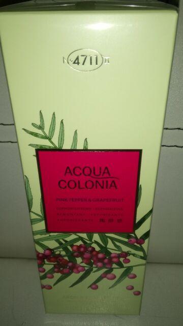 (9,99€/100ml) Acqua Colonia 4711  Rosa Pfeffer&Grapefruit 200ml Duschgel neu