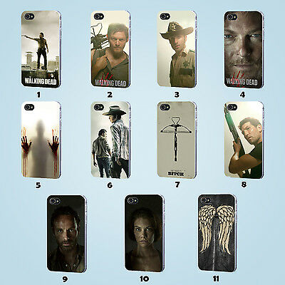 the walking dead cover Phone case for iPhone 4/4s/5/5c/5s/6/6 plus
