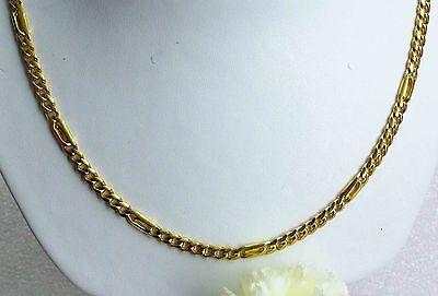 57 Cm Halskette 750 Gold 18 Kt Goldkette Herrenkette Neu Massiv 29,3 Gr: