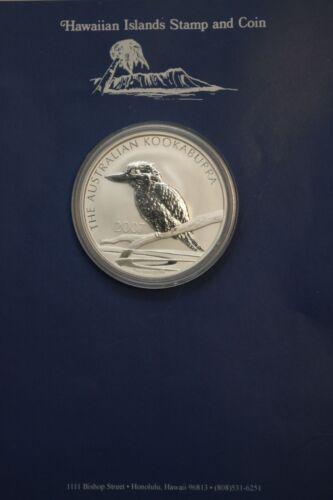 2007 1 oz Australian Kookaburra .999 Silver