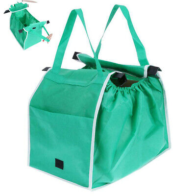 Grocery  Shopping Tote Bags Foldable Bag Cart Reusable Eco Storage Trolley