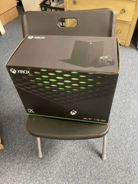 Microsoft XBOX Series X 1TB Game Console Black - In Hand Ready To Ship - New