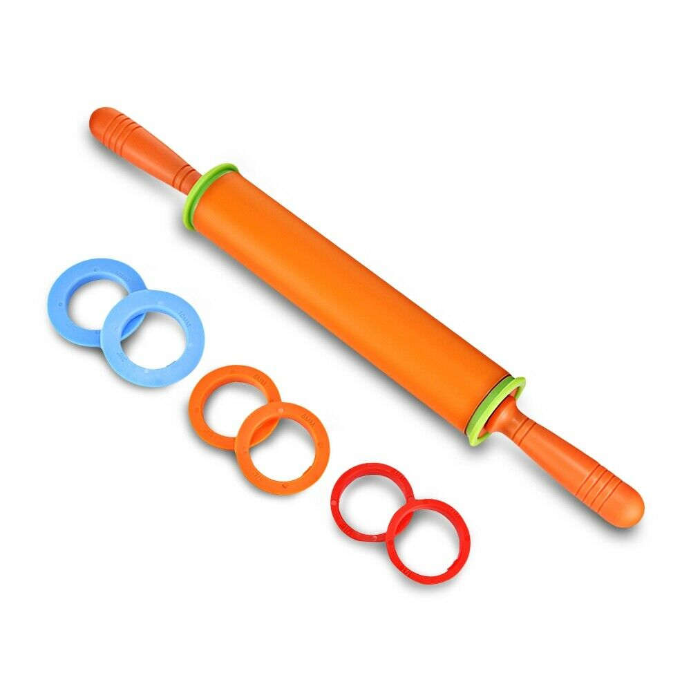 non stick silicone rolling pin dough roller