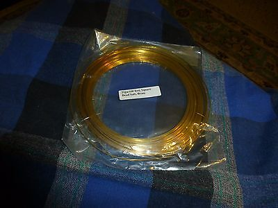 Square Dead Soft 20 GA Copper Crafters and Jewelry Makers Wire 25 Feet