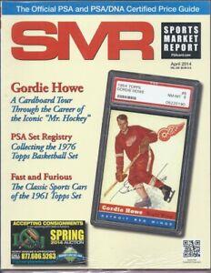 SMR-2014-APR-PSA-Gordie-Howe-Mr-Hockey-Registry-1976-Topps-BKB-1961-Classic-Cars