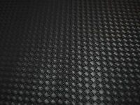 Synthetic Leather Vinyl Upholstery Fabric 54wide -black Weave- Sold By The Yard