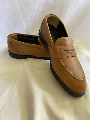 Hush Puppies Mens Penny Loafer Sz 8 Tan Leather ...