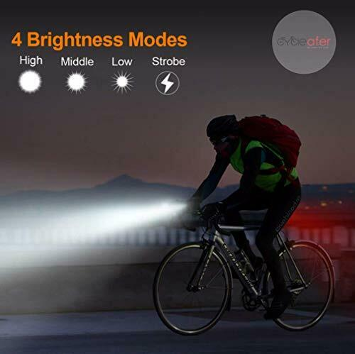 Cycleafer USB Rechargeable LED Head Light for sale online