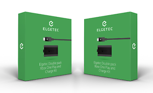 2-Pack-For-XBox-One-Charge-and-Play-Kit-Rechargeable-Battery-amp-Charging-Cable