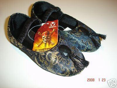 NEW Disney Elizabeth Swann Costume Geisha Shoes 11 12