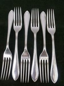 6-nice-vintage-Sandringham-Pattern-Dinner-Table-forks-EPNS-silver-plated