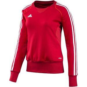 Detalles acerca de Sudadera Adidas T12 Climalite Para Mujer Puente Rojo mostrar título original