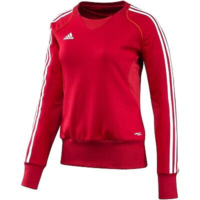 Adidas T12 Climalite Sweat-shirt rouge pour femme Pull | eBay