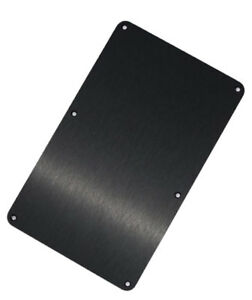 Jackson-Anodized-Aluminum-Black-Back-Plate-Floyd-Rose-Cover-for-USA-Series