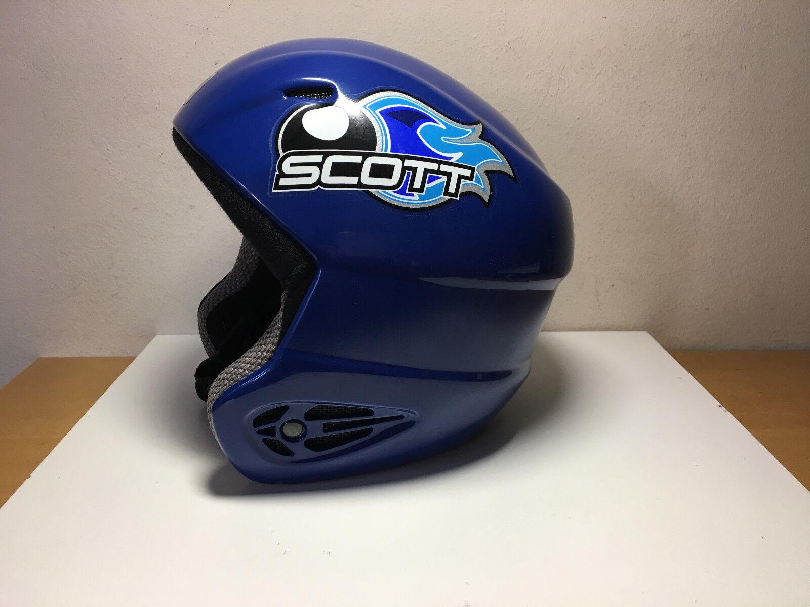 Gebraucht - Kids Ski Helm SCOTT USA der für Kinder - Größe 56   57