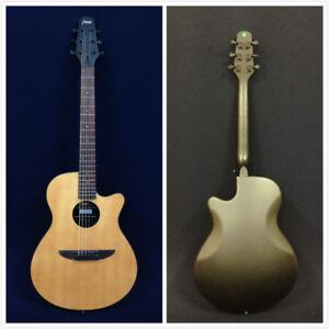 """Light-Weight 38"""" Haze 836CSMN Round-Back Acoustic/Classical Guitar,Natural Matt"""