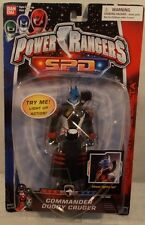"Power Rangers S.P.D. SPD Space Police - 6"" Commander Doggy Cruger Light Up (MOC)"
