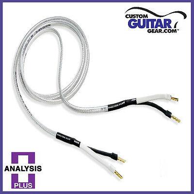 Analysis Plus BULK Chocolate Oval 12//2 Speaker Cable Length 26ft