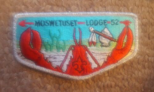 BSA OA Moswetuset 52 First Flap S-1 issued Friday, the 13th of August, 1993