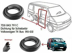 Original-LLS-Schiebetuerdichtung-VW-T4-Transporter-IV-Bus-Multivan-7D0843791C