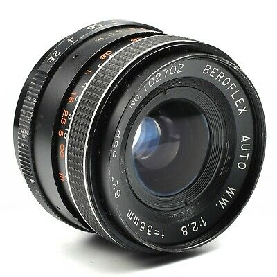 Auto-beroflex 28mm f//2 8 para Minolta MD