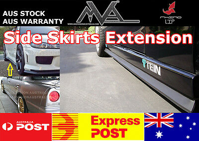 Side Skirt Extension Lip for TOYOTA SUPRA 86 AE86 COROLLA RUKUS YARIS ECHO PRIUS