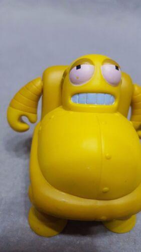"6RARE Kidrobot Futurama Series 2 HEDONISMBOT HEDONISM BOT Vinyl Figure 3/"" Loose"