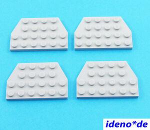 LEGO-STAR-WARS-4-unidades-Placa-Ala-4-x-6-NUEVO-GRIS-CLARO-32059-4211725-NUEVO