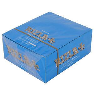 10x-RIZLA-BLUE-KING-SIZE-SLIM-CIGARETTE-SMOKING-ROLLING-PAPERS-ORIGINAL-UK-Cheap