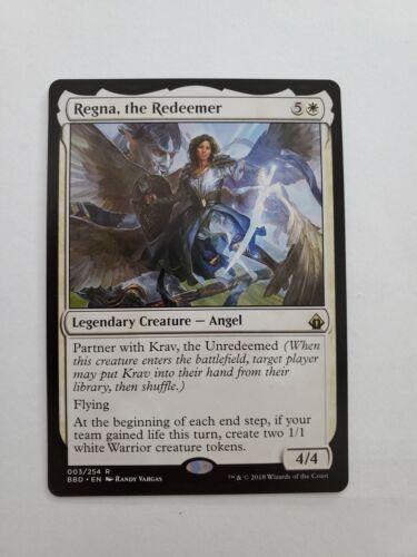 MTG Regna NM the Redeemer Battlebond Magic the Gathering English Near Mint