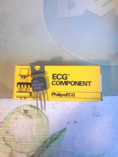 ECG186A NPN TRANSISTOR TO-202M REPL NTE186A