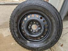 Matched Set Of 4 Bridgestone Blizzak Ws80 22565r16 Tires Rims