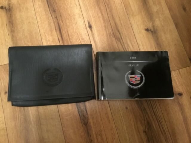 2004 Cadillac Deville Owners Manual   Cadillac Case