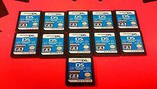 LOT OF 11 Download Station Volume 6 Demo Cart Not For Resale Nintendo DS
