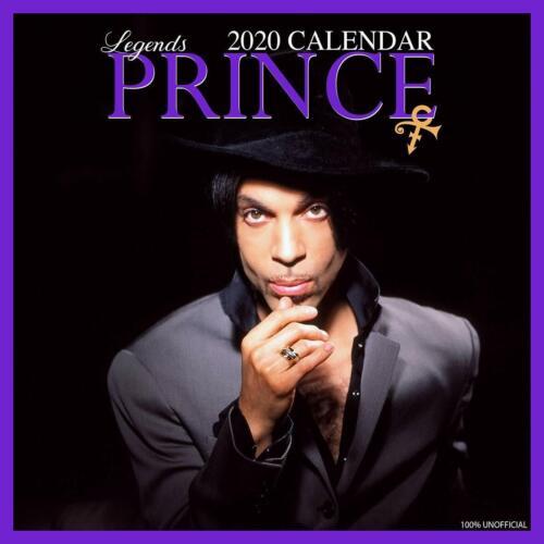 Prince Calendar FREE POSTER INSIDE 2020