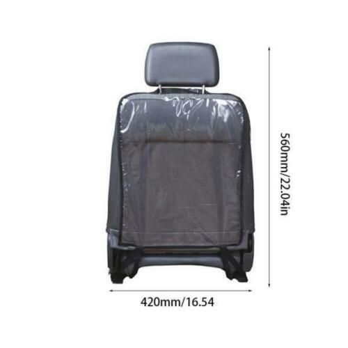 Car Seat Back Protector NEW UK Seller Universal Fit Clear Black