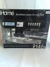 NIB HTF iHome iH46 under cabinet kitchen System for your Ipod Black