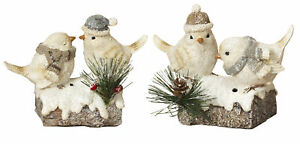 Resin-Winter-Birds-Figurine-on-Snowy-Tree-Branch-Table-Top-Shelf-Decoration