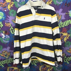 Polo Ralph Lauren Blue Yellow White
